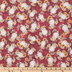 Owls & Sunflowers Cotton Fabric