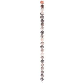 Pink Jasper Round Bead Strand