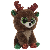Fudge Reindeer Beanie Boo