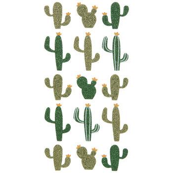 Cactus Glitter Stickers