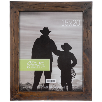 Distressed Rustic Wood Wall Frame