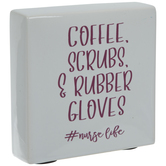 Coffee, Scrubs & Rubber Gloves Decor
