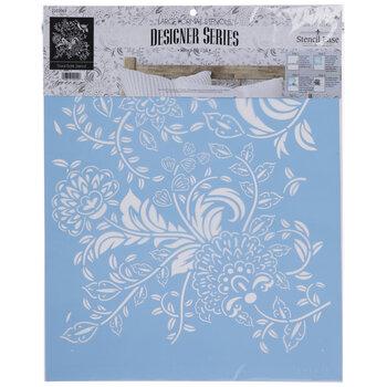 Floral Batik Stencil