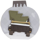 Truck With Tree Ornament Wood Decor