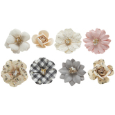 Spring Beauty Flower Embellishments