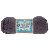 Pewter I Love This Cotton Yarn