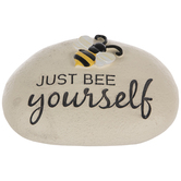Just Bee Yourself Garden Stone