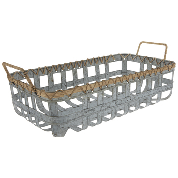 Galvanized Metal Basket