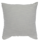 White & Seafoam Heather Pillow