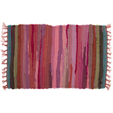 Striped Chindi Placemat