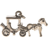 Horse & Carriage Charm