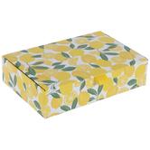 Lemons & Leaves Rectangle Box