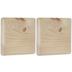 Square Wood Plaques - 5