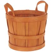 Rustic Wood Basket
