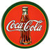 Coca-Cola Round Magnet