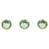 Peridot Swarovski Xirius Flat Back Hotfix Crystals - 12ss