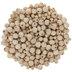 Natural Round Wood Bead Mix