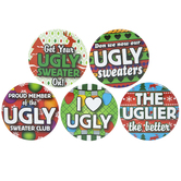 Metal Ugly Sweater Buttons