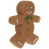 Gingerbread Man Squeaky Dog Toy
