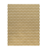 "Gold & White Hearts Vellum Paper - 8 1/2"" x 11"""