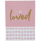 So Loved Wood Wall Decor