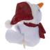Plush Snowman Wrist Hugger Bracelet