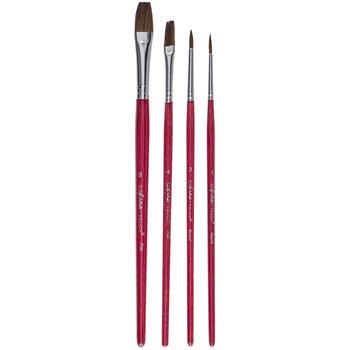 Camel Paint Brushes - 4 Piece Set