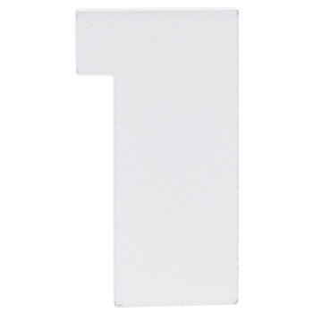 """White Wood Numbers - 2"""""""