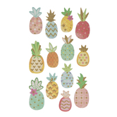 Pineapple Glitter Stickers