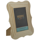 "Scroll Wood Frame - 4"" x 6"""