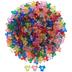 Transparent Propeller Plastic Beads