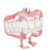 Chatter Teeth Ornament