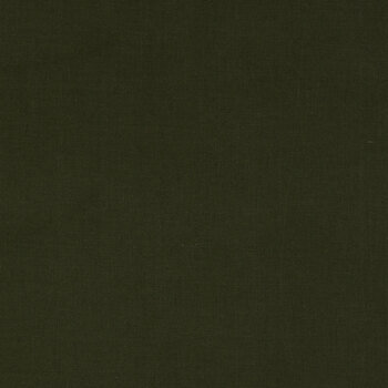 Dark Green Rustic Woven Cotton Fabric