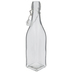 Square Glass Bottle - 17 Ounce
