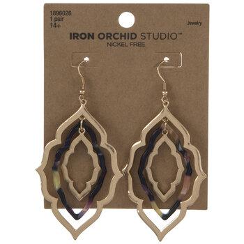 Moroccan Nested Metal Earrings