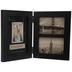 Black Wood Folding Collage Frame