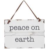 Peace On Earth Wreath Embellishment