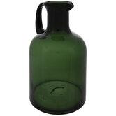 Dark Green Glass Jug