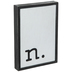 Lowercase Letter Wood Wall Decor - N