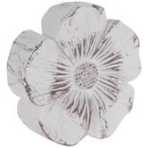 Whitewash Wood Look Flower