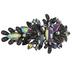 Floral Rhinestone Hair Clip