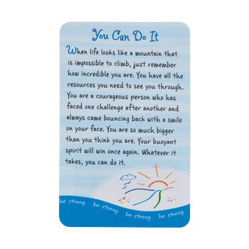 You Can Do It Wallet Card