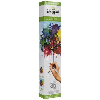 Rainbow Tree Diamond Art Intermediate Kit