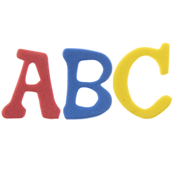 Alphabet Foam Stickers
