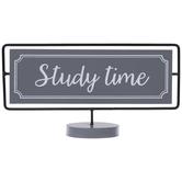 Nap Time Study Time Flipped Metal Decor