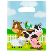 Barnyard Party Zipper Bags