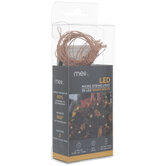 Warm White Copper Wire LED Lights