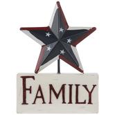 Family Star Decor