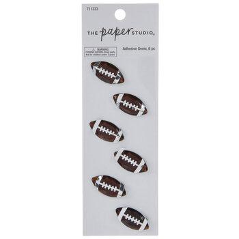 Football Rhinestone Stickers