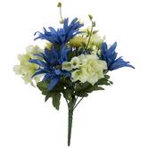 Daisy, Hydrangea & Cornflower Bush